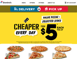 40 Off Dominos Pizza Voucher Code Promo Codes Deals